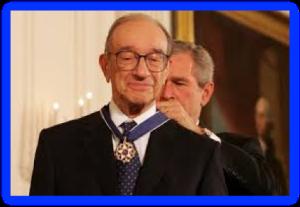 Alan Greenspan - The Maestro Receives His Just Reward