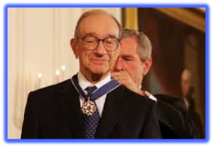 Alan Greenspan - The Maestro Receives His Just Reward