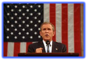 POTUS 43 Geo W Bush - Position Vacant No Heavy Lifting Req.