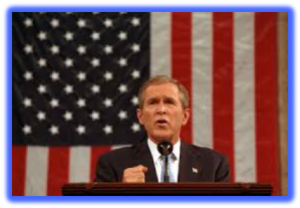 POTUS 43 Geo W Bush - Position Vacant No Heavy Lifting Req.