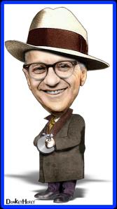 Milton Friedman - avec 'Chicago Typewriter'