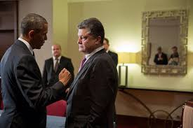President Obama and Ukraine president Poroshenko