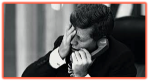 JFK Experiences his first taste of CIA skulduggery - Reacting to news of Patrice Lumumba's murder.