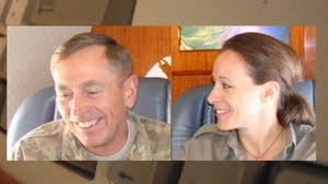"""Gen Petraeus and his Biographer Paula Broadwell -- They were """"All In"""" you know"""