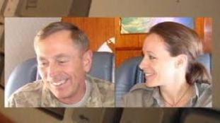 "Gen Petraeus and his Biographer Paula Broadwell -- They were ""All In"" you know"